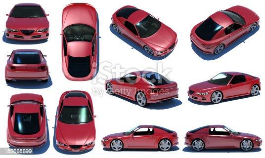 istock Sports car 360 182668699