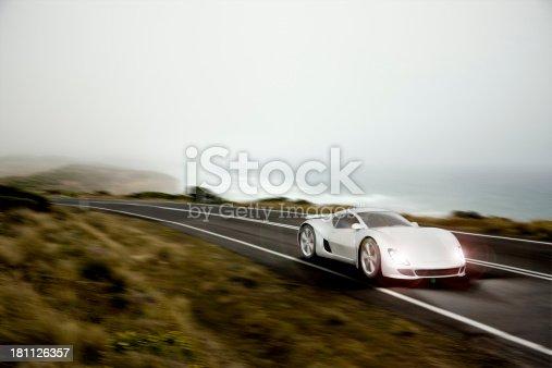istock Sports Car at Dusk 181126357