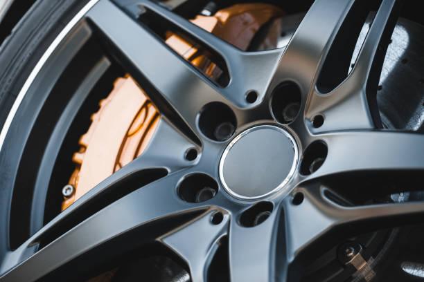 Sportwagen-Bremssystem – Foto