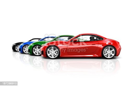 istock Sports Car Collection 187266910
