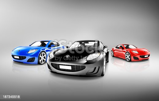 istock Sports Car Collection 187345518
