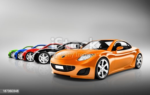 istock Sports Car Collection 187360348