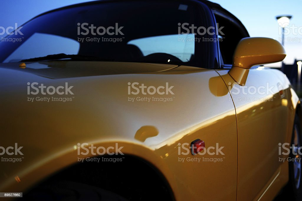 Sports Car royalty-free stock photo