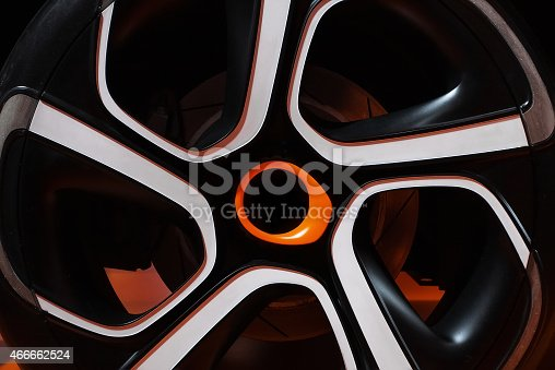 istock sports car wheel 466662524