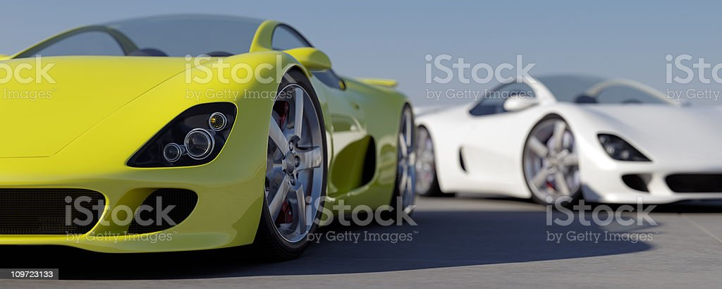 Sports Cars royalty-free stock photo