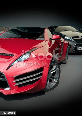 Non-branded car design.