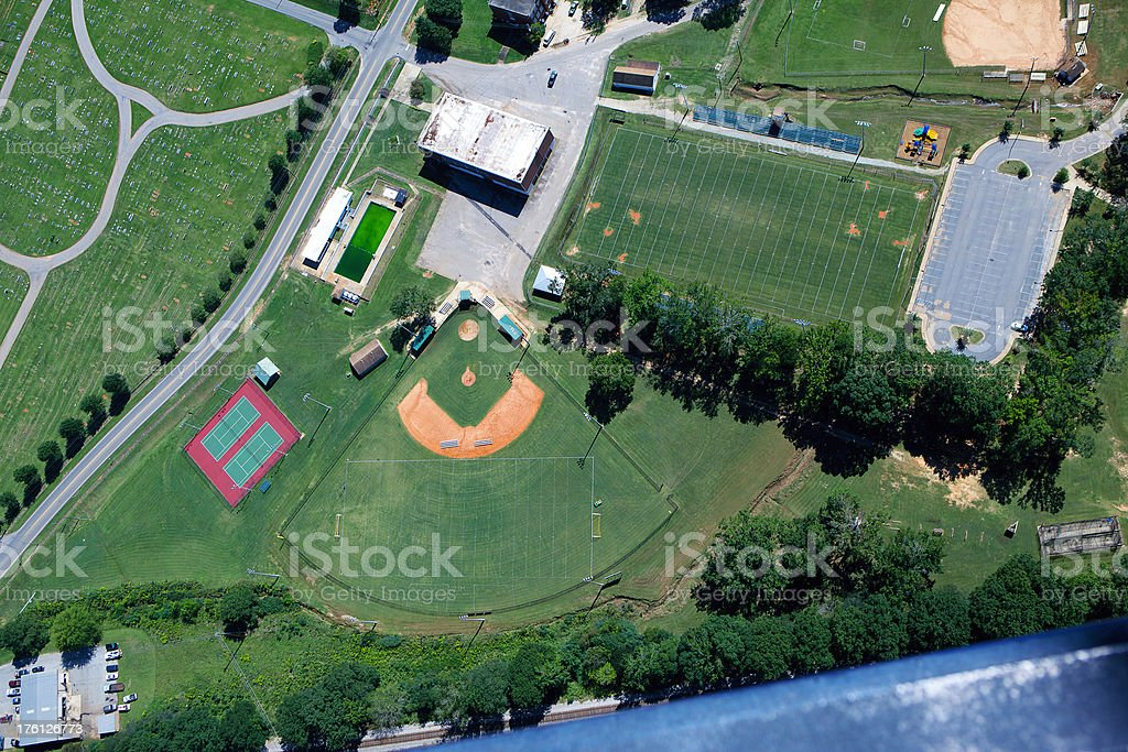 Sports Complex stock photo