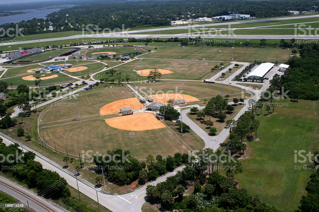 Sports Complex royalty-free stock photo