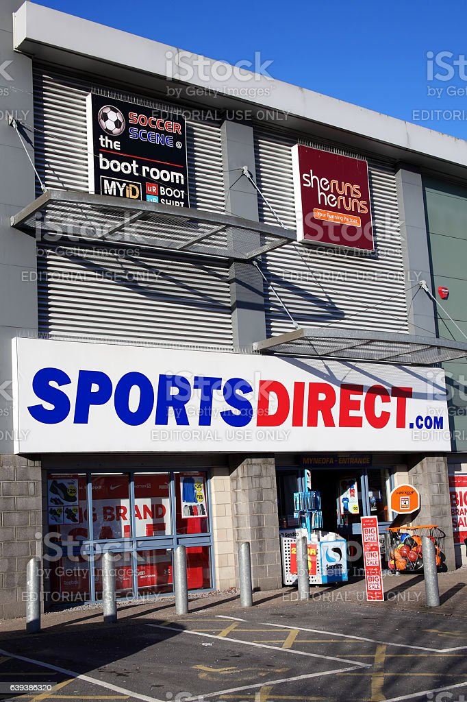 Sports Direct store stock photo