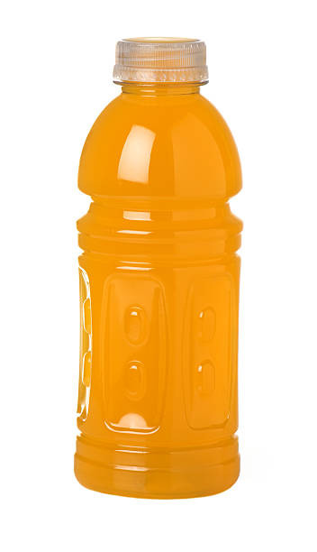 Sports Drink Orange Flavor stock photo