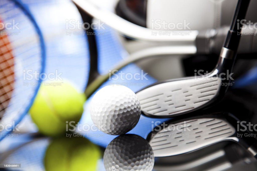 Attrezzatura sportiva dettaglio - foto stock