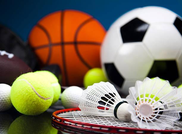 Sports Equipment detail stock photo
