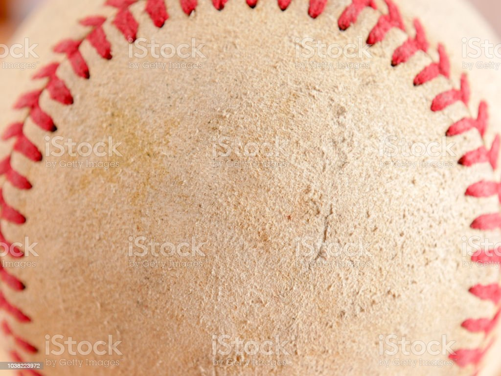 Sports Equipment old Baseball background texture stock photo