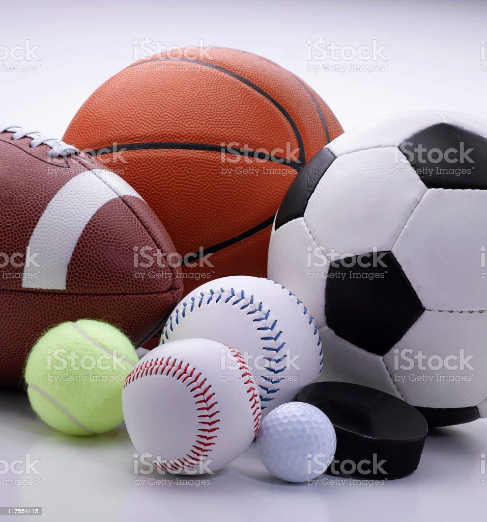 Attrezzatura sportive - foto stock