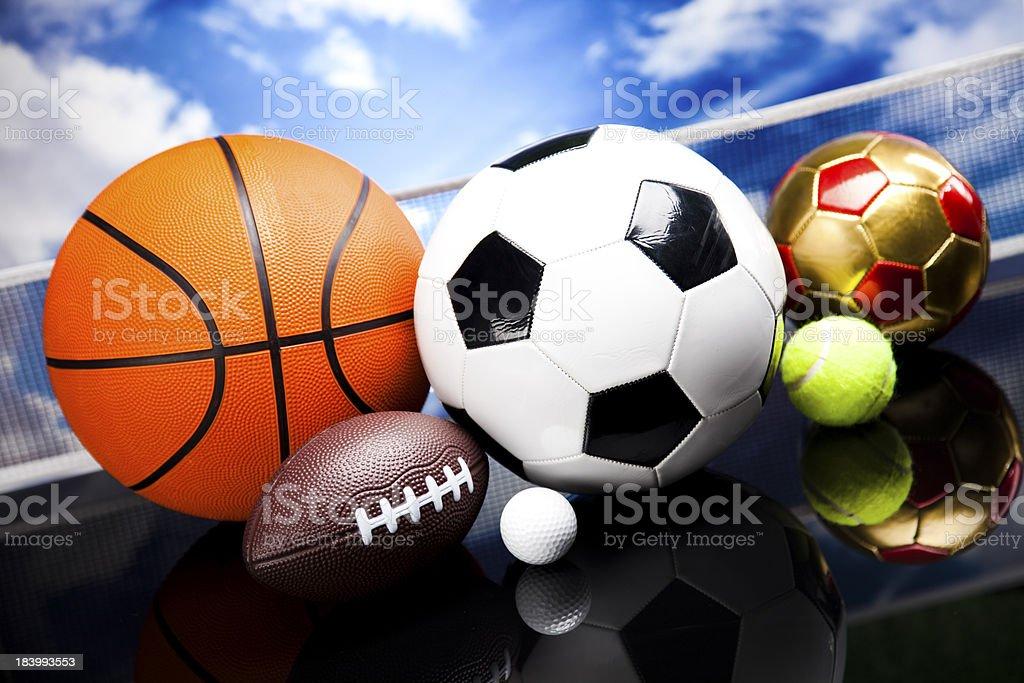 Sports Equipment royalty-free stock photo