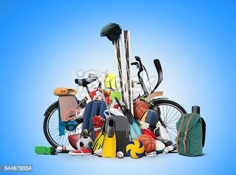 istock Sports equipment 544679034