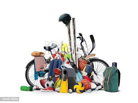 istock Sports equipment 544679044