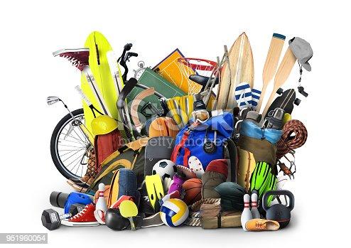 istock Sports equipment 951960054