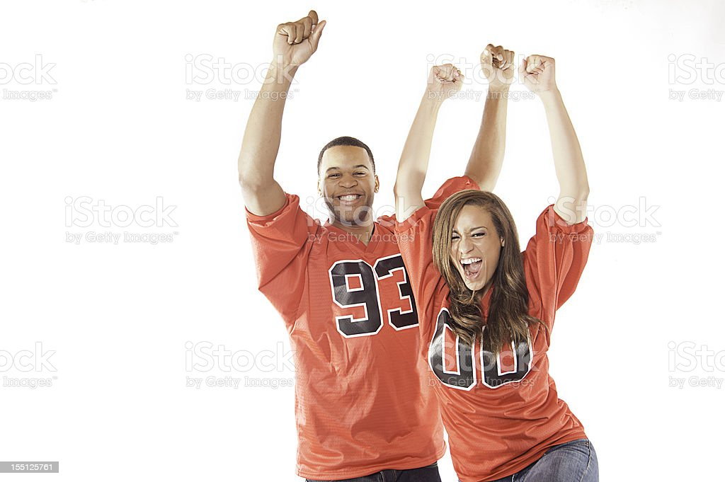 Sports Fans royalty-free stock photo