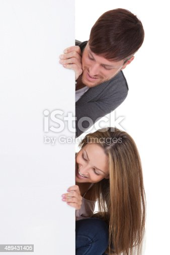 istock Sports fans popped their heads 489431405