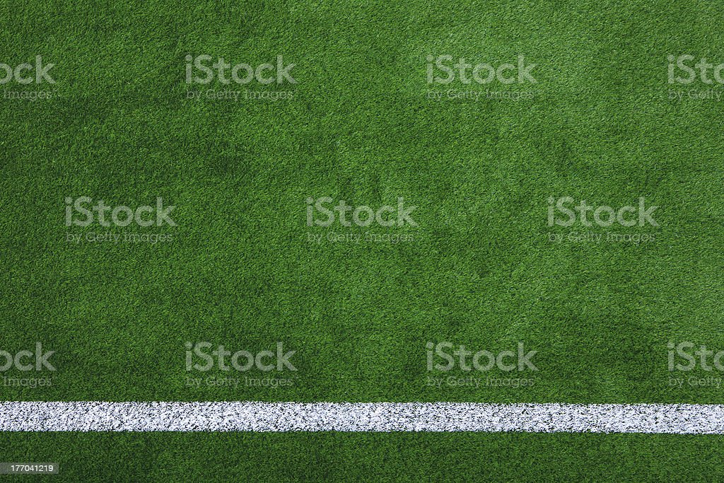 Sports field background stock photo