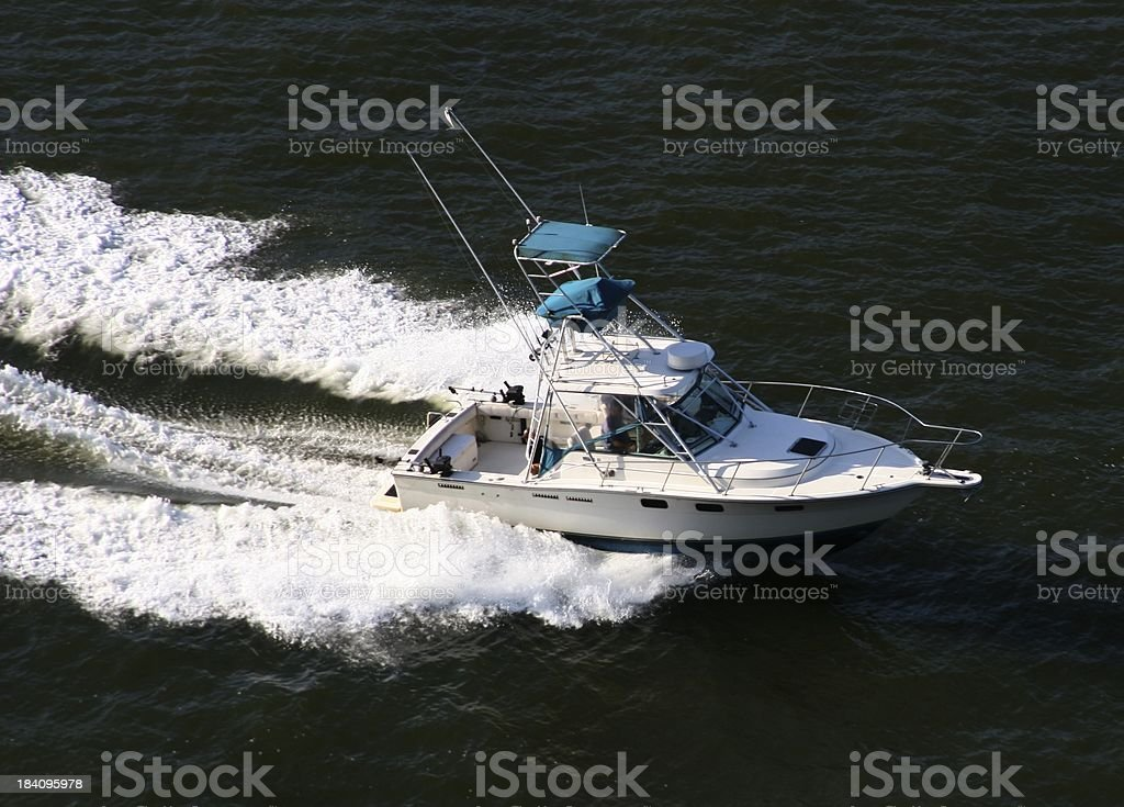 Sports Fishing Boat royalty-free stock photo