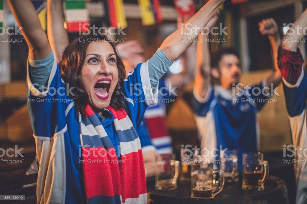 Sports game time stock photo