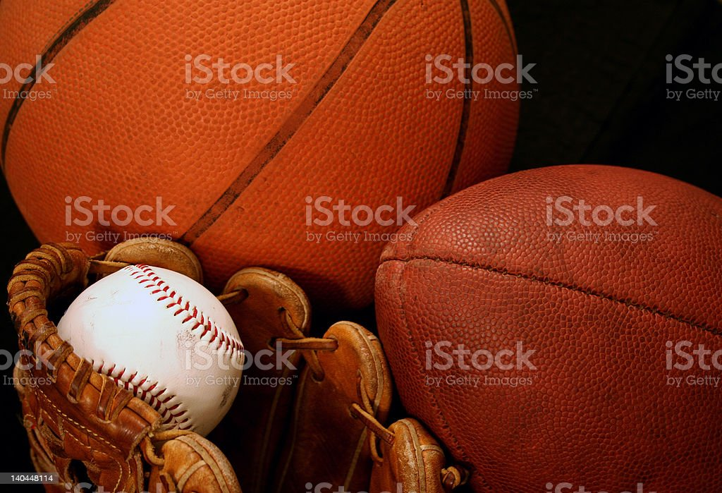 Sports Gear royalty-free stock photo
