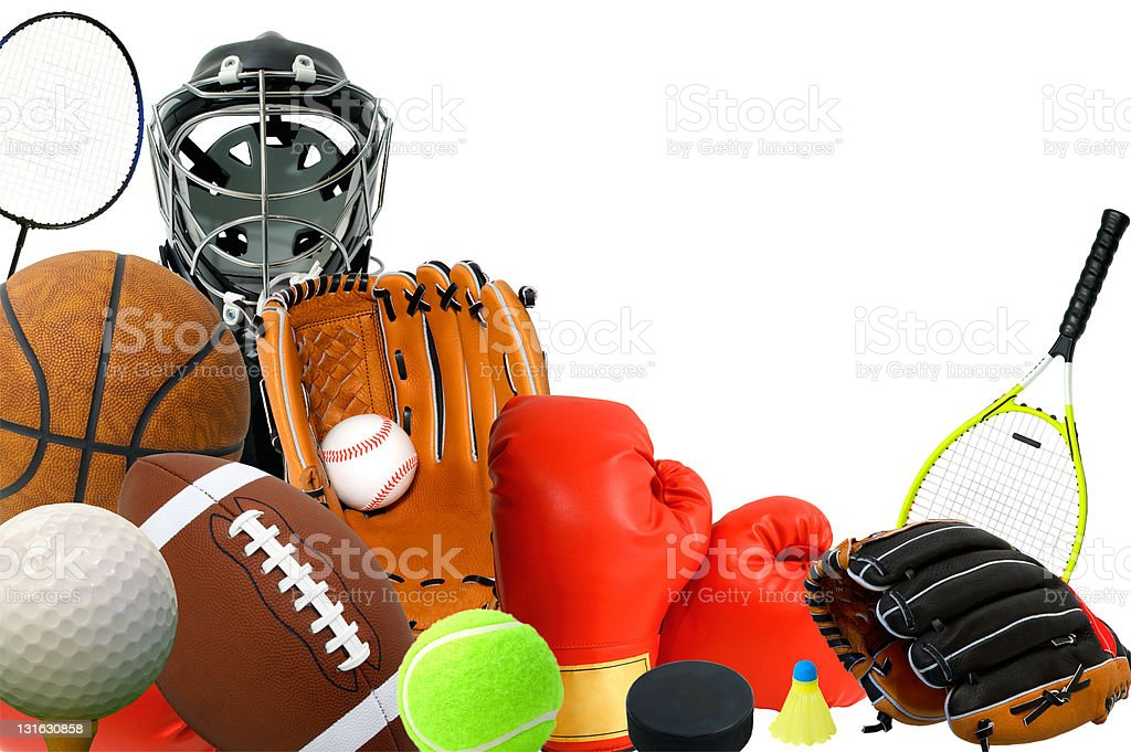 Sports Gears stock photo