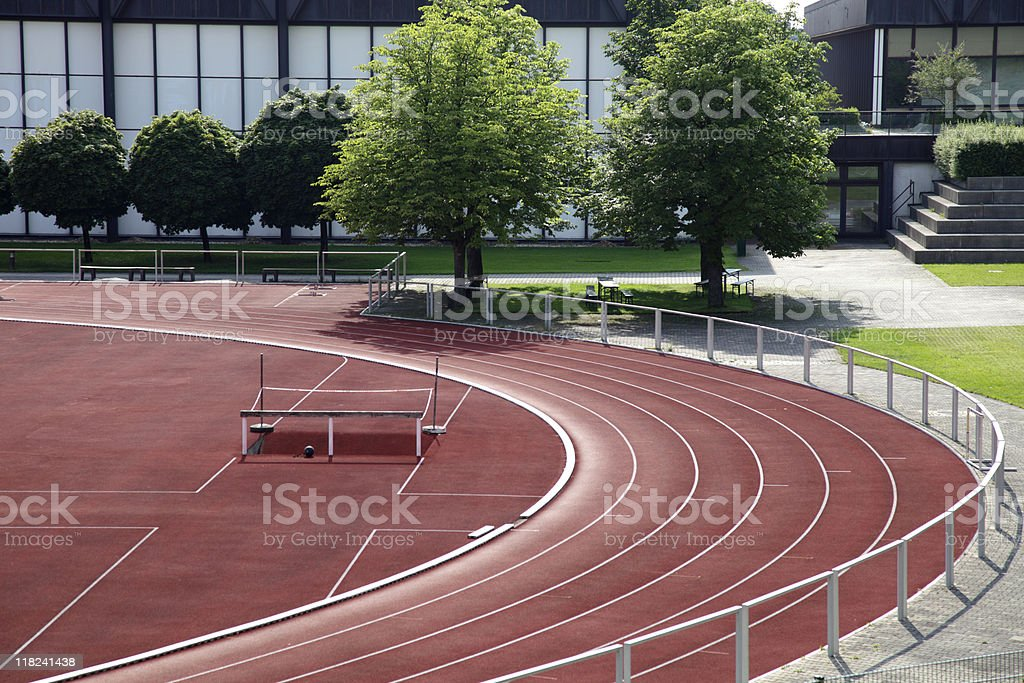 sports ground royalty-free stock photo
