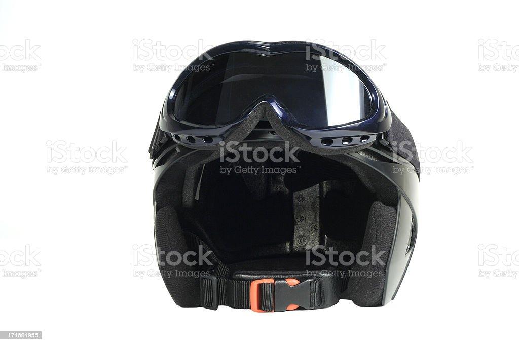 Sports helmet royalty-free stock photo
