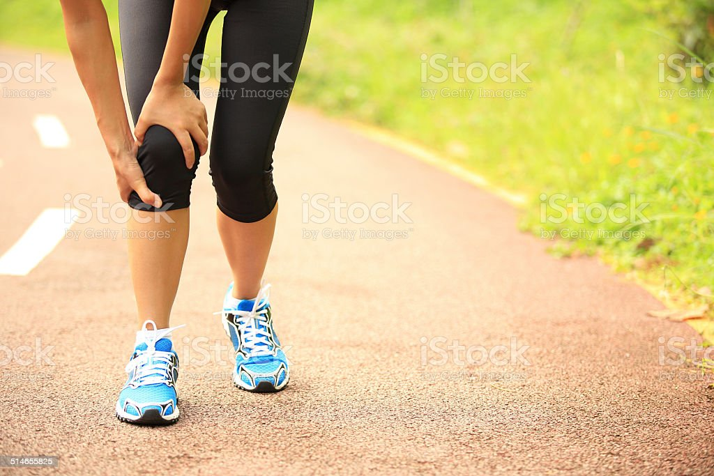 sports  injury stock photo