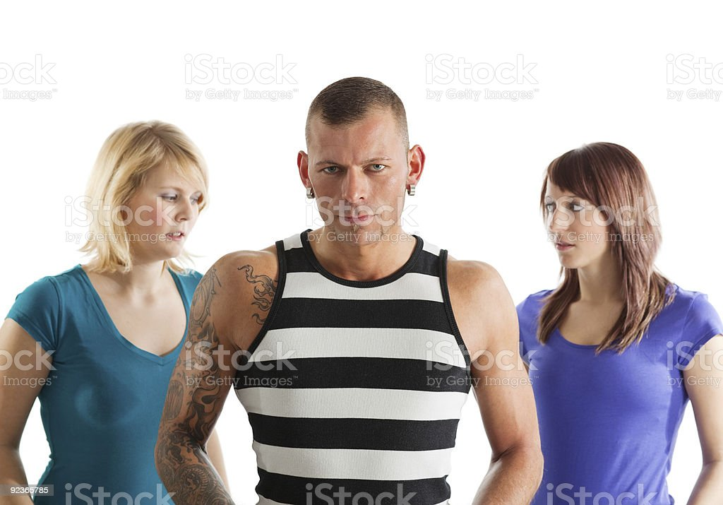 sportive people royalty-free stock photo