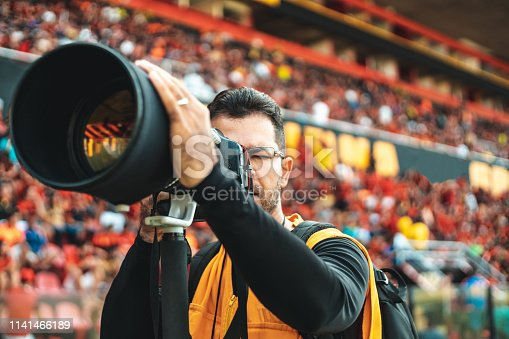 Brazil, Photographer, Soccer - Sport, Stadium, Camera - Photographic Equipment