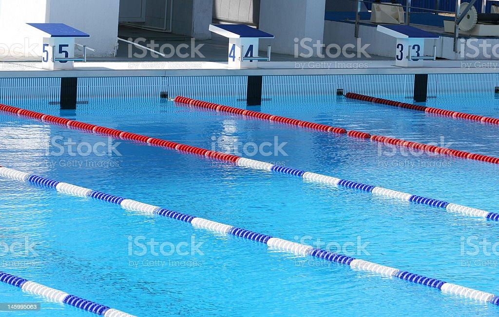 Sports pool royalty-free stock photo