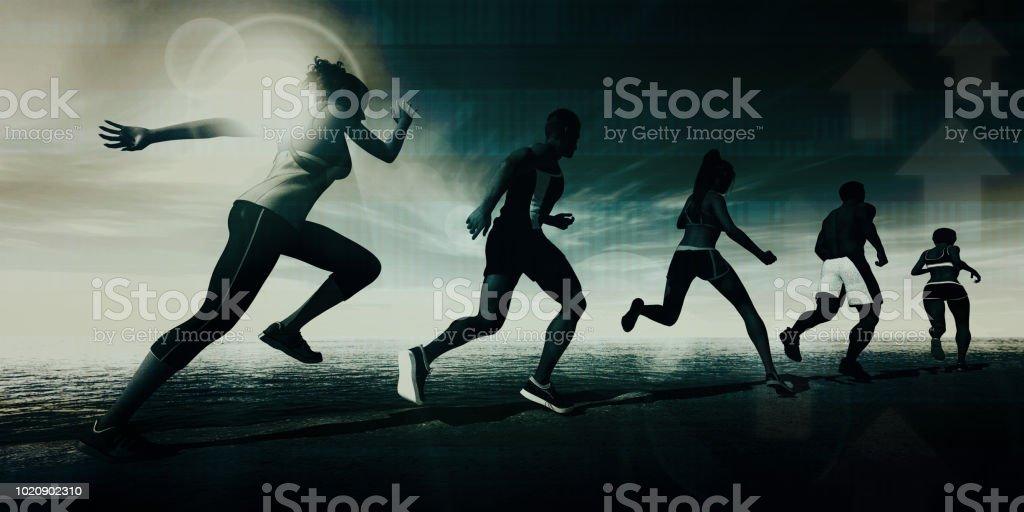 Sports Science stock photo