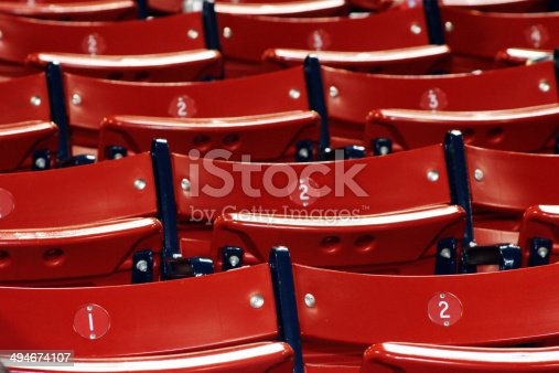 istock Sports seats easy as 1-2-3 494674107