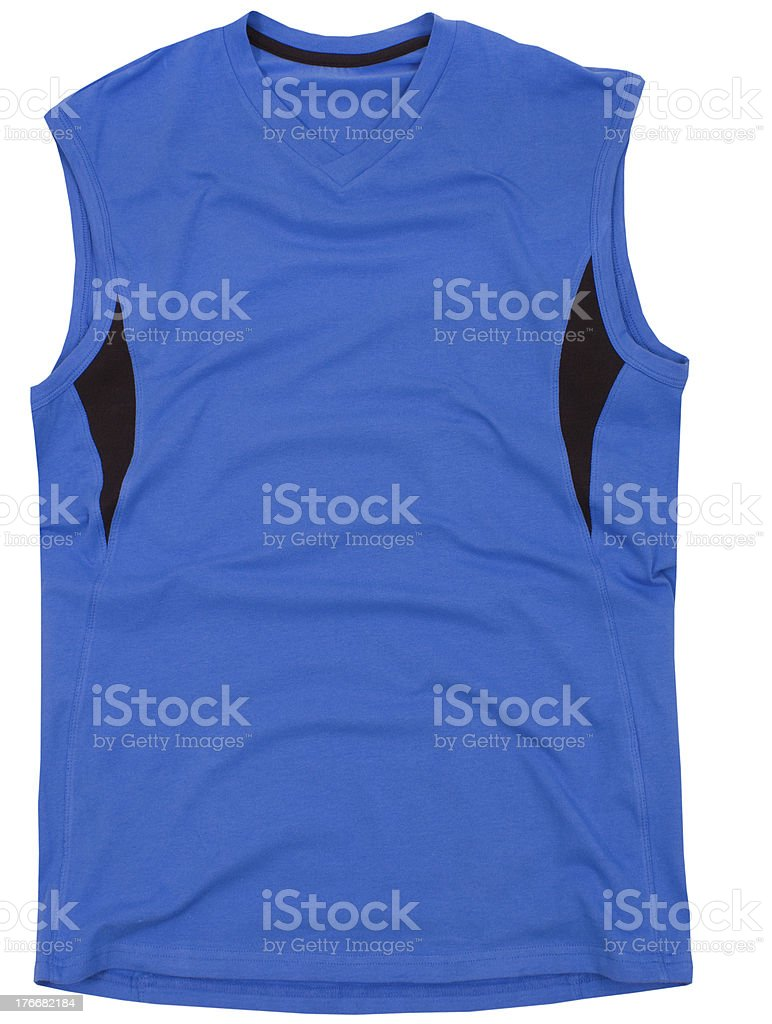 Sports shirt isolated royalty-free stock photo