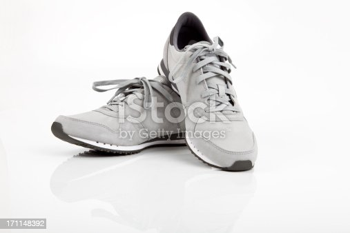 Sports Shoe on Studio Shot