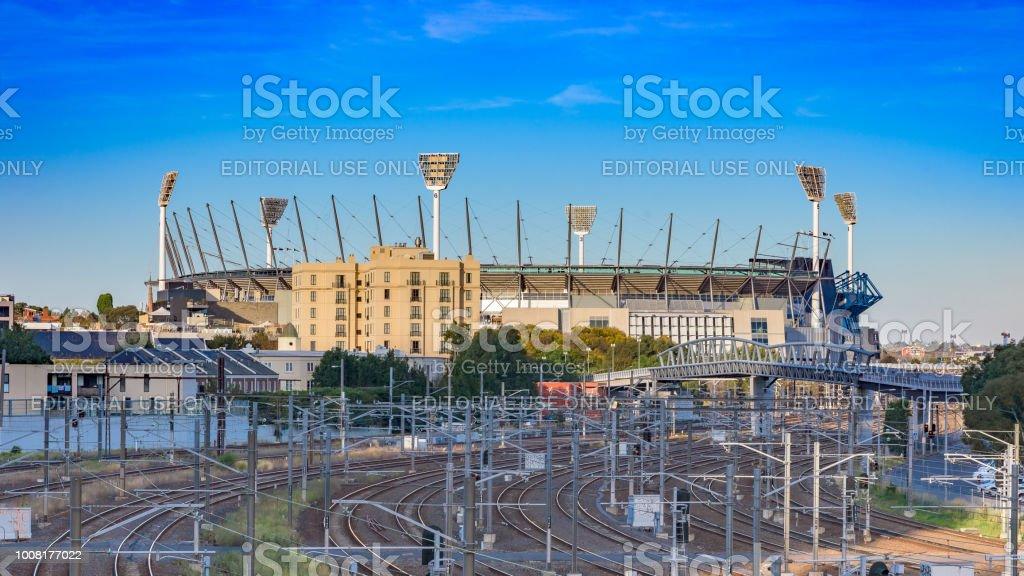 Sports Stadium stock photo