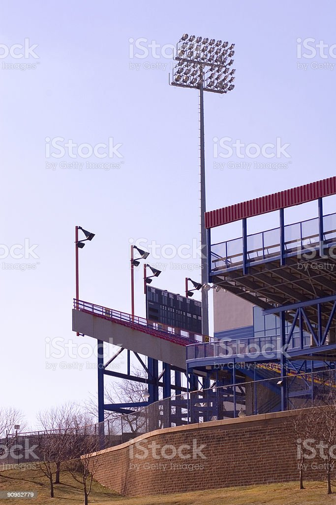 Sports Stadium royalty-free stock photo