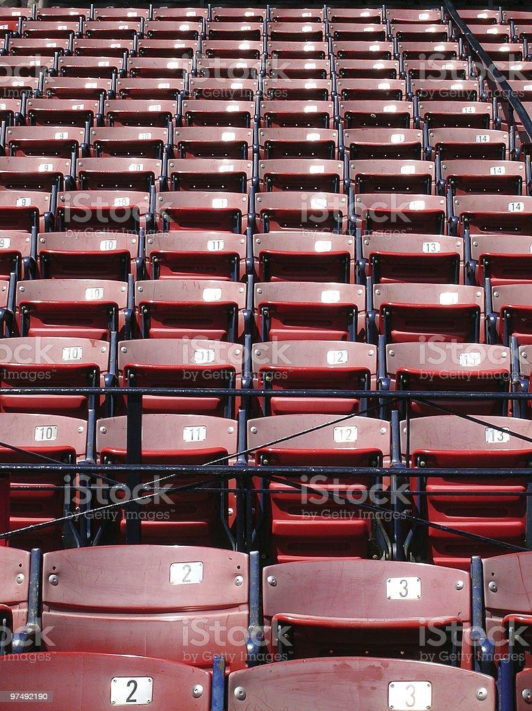 Sports stadium royalty-free stock photo