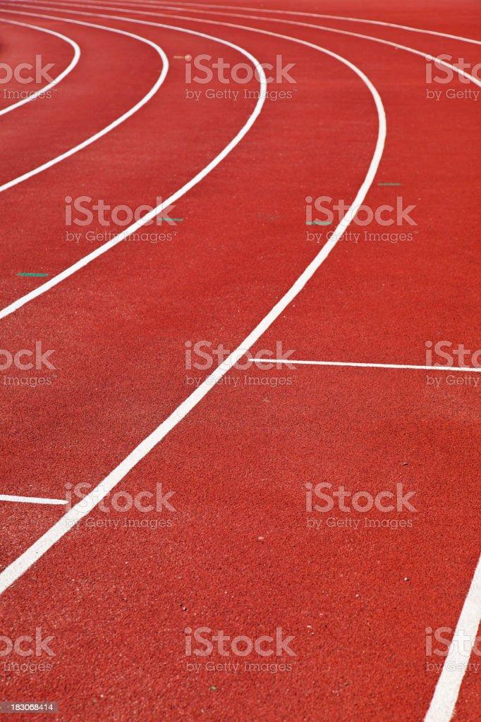 Sports track. royalty-free stock photo