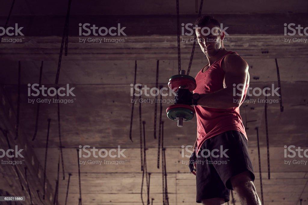 Sports training stock photo