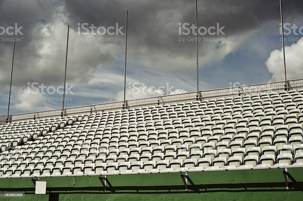 Sports Tribune royalty-free stock photo