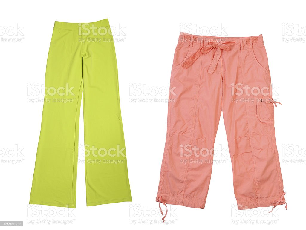 Sports trousers royalty-free stock photo