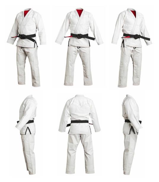 sport einheitliche kimono - kimono stock-fotos und bilder