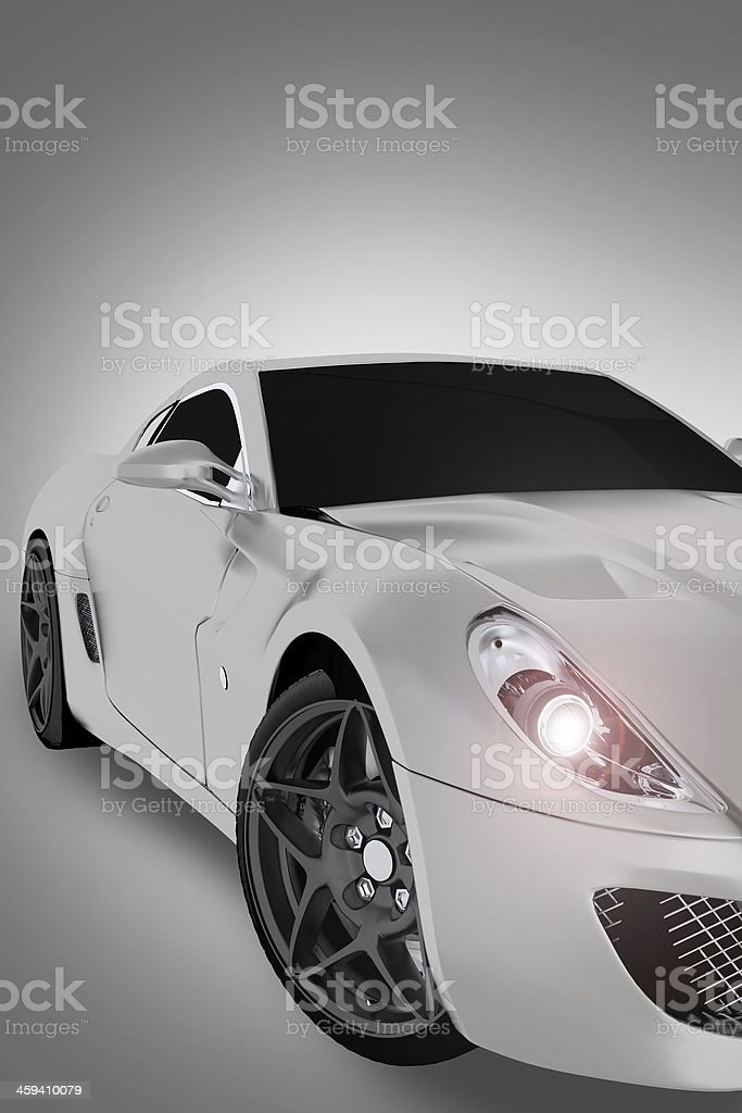 Sports Vehicle Front stock photo