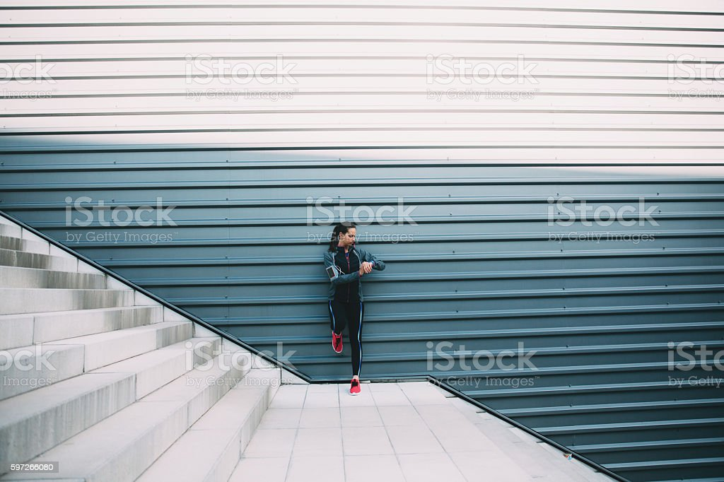 Sports Woman royalty-free stock photo