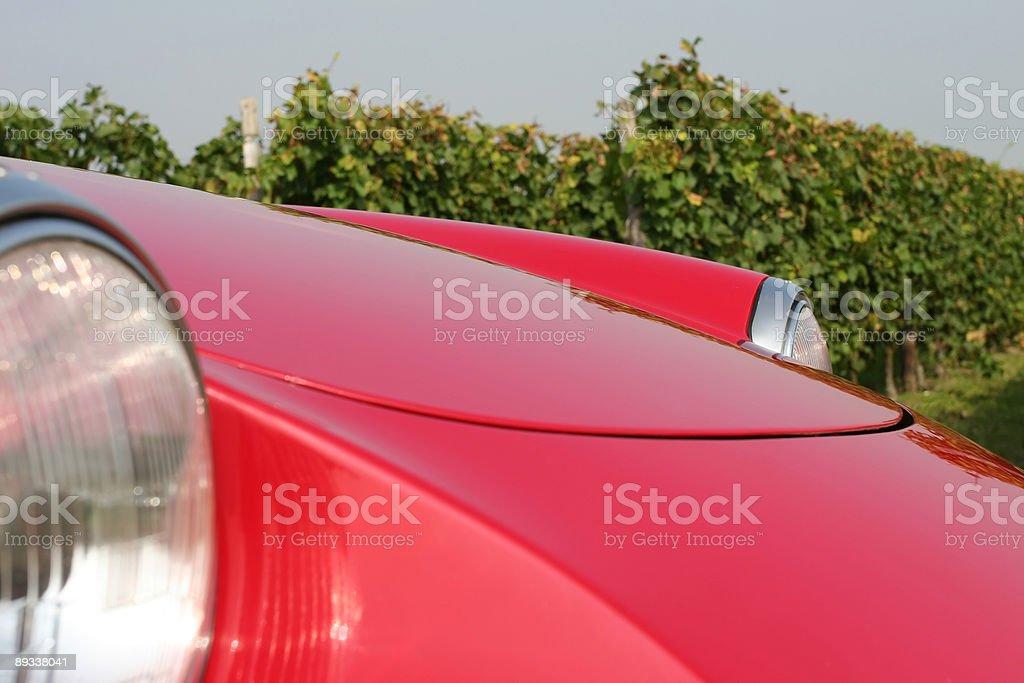 Sportscar Detail royalty-free stock photo